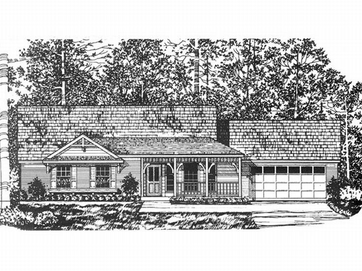 1-Story House Plan, 015H-0011