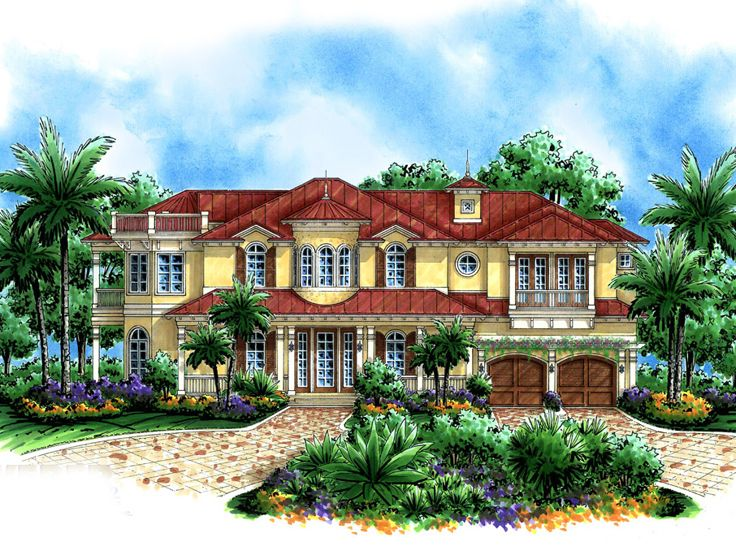 2-Story House Plan, 037H-0056