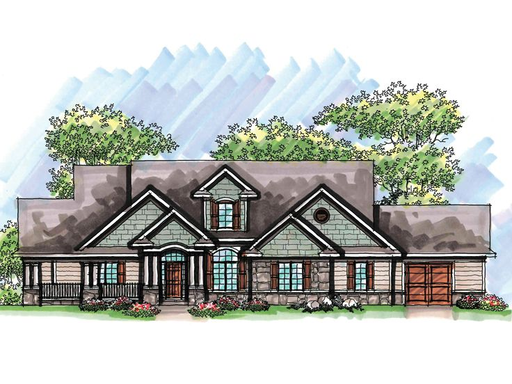One-Story House Plan, 020H-0223
