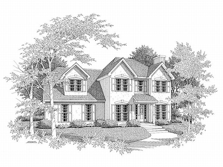 Sunbelt House Plan, 019H-0005