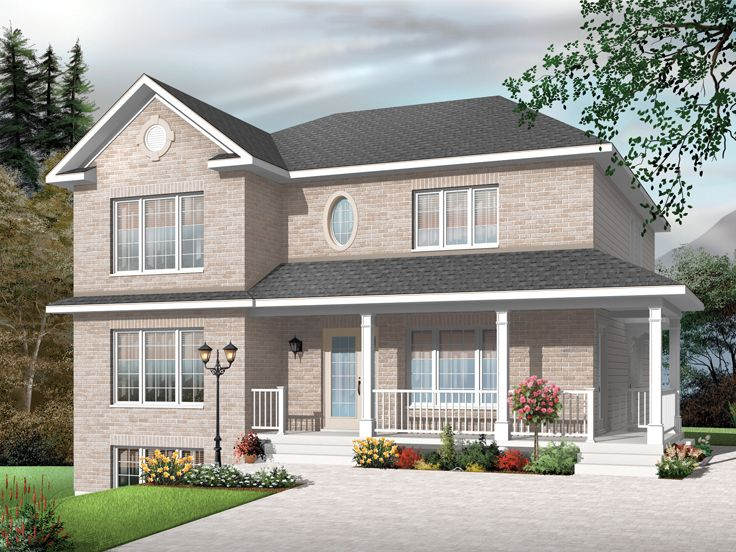 Plan 027m 0029 find unique house plans home plans and for Two family home plans
