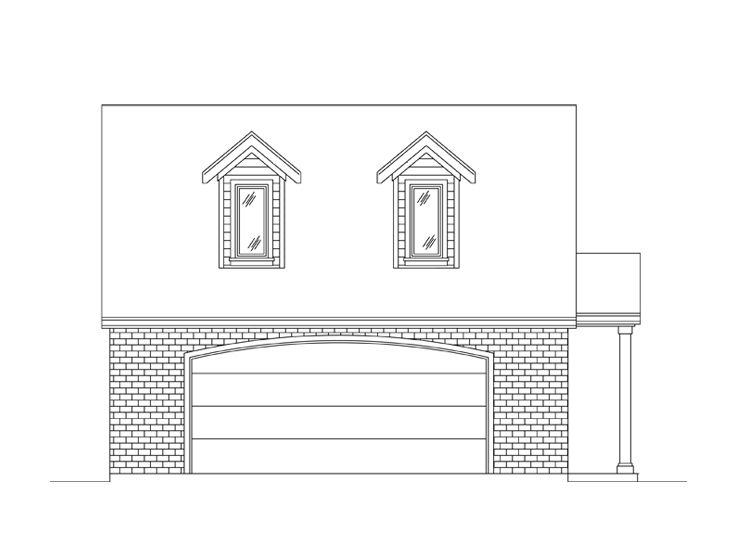 Carriage House Plan, 024G-0004