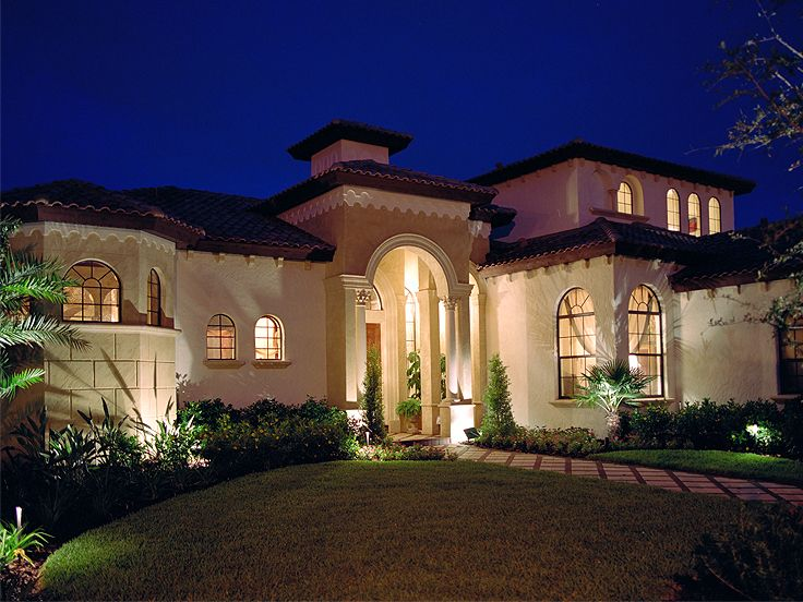 Premier Luxury Home Plan, 043H-0234