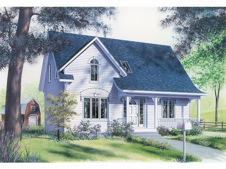 Small House Plan, 027H-0013