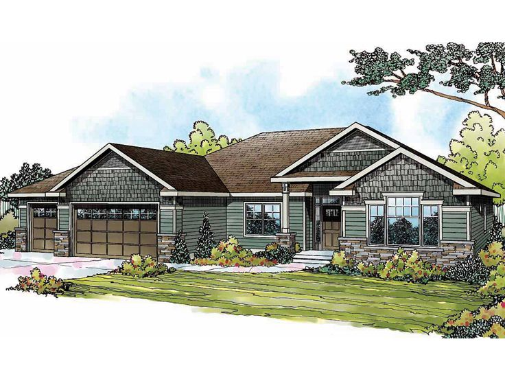 Traditional House Plan, 051H-0190