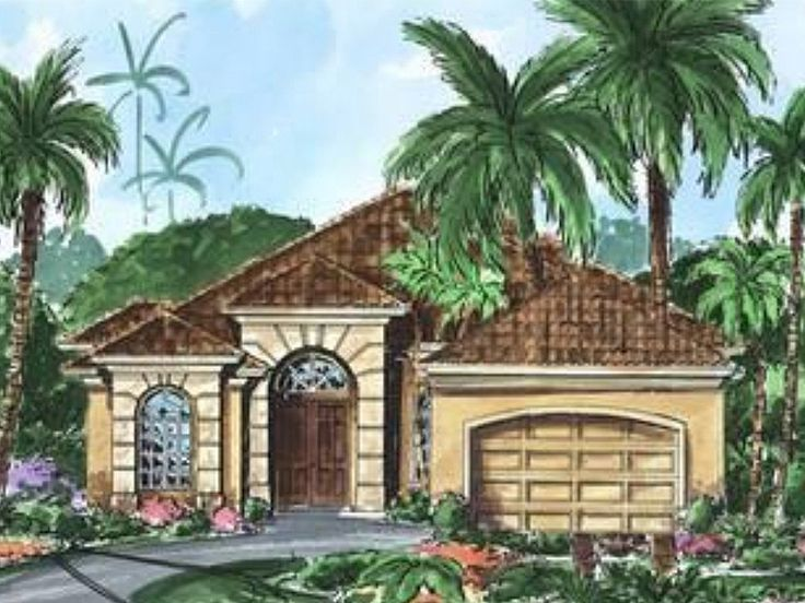 Sunbelt Home Plan, 040H-0083