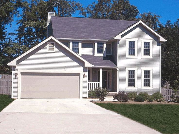 Two-Story Home Plan, 031H-0036