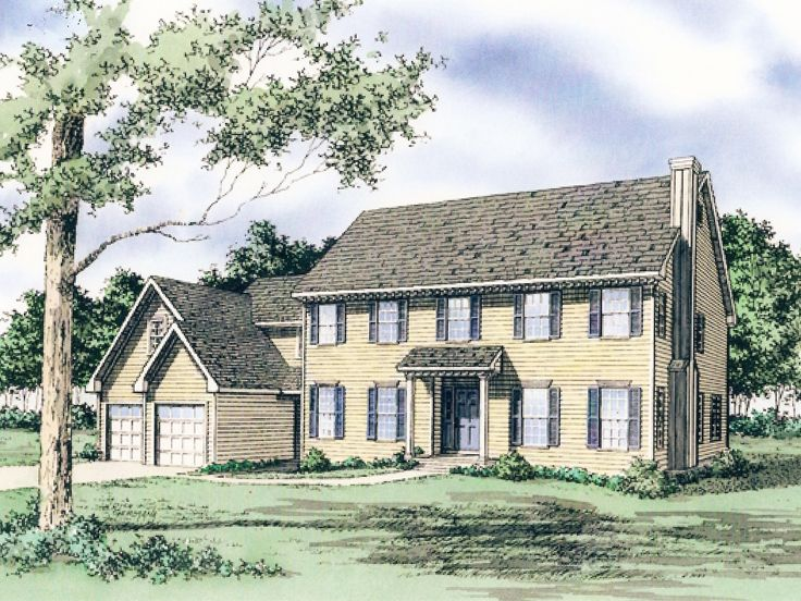 Plan 009h 0036 find unique house plans home plans and for Single story cape cod house plans