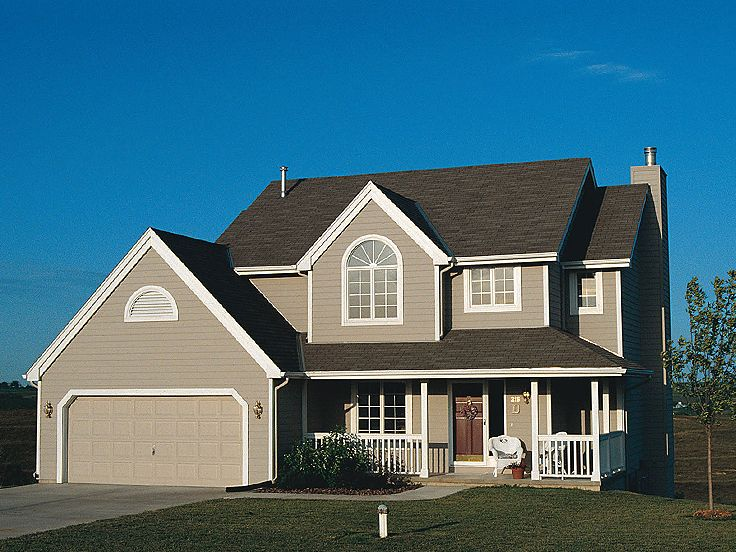 Two-Story Home Plan, 031H-0255