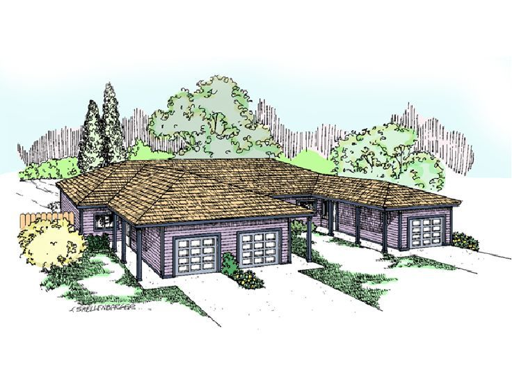 Triplex Home Design, 013M-0018