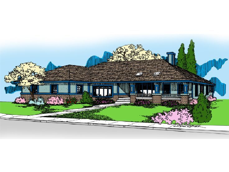 One-Story House Plan, 013H-0089