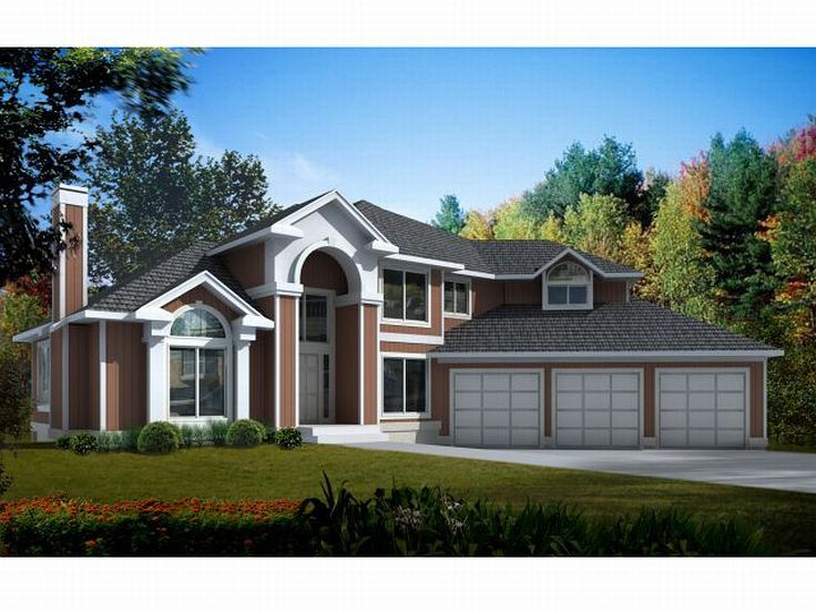 Two-Story Home Plan, 026H-0039
