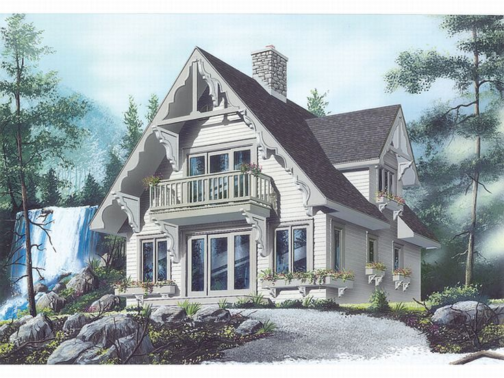 Challet House Plan, 027H-0143