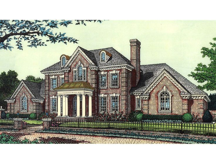 2-Story Home Plan, 002H-0061
