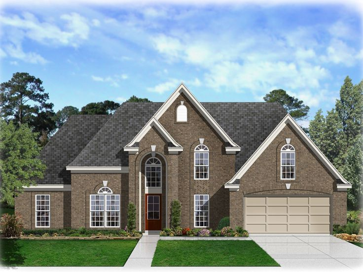 Traditional House Plan, 061H-0053