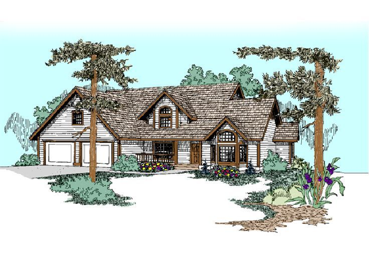 Two-Story Home Plan, 013H-0066