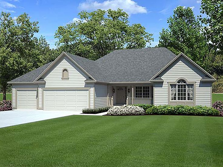 Traditional House Plan, 047H-0008