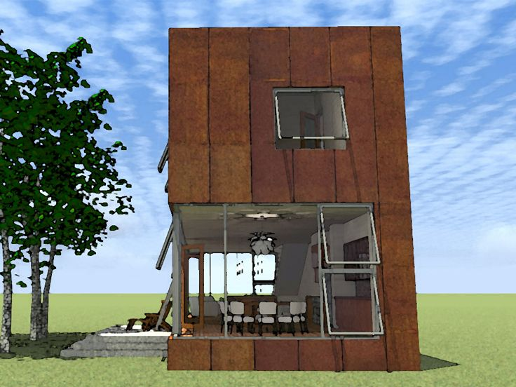 Narrow lot house plans joy studio design gallery best for Contemporary house plans for narrow lots