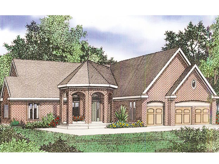 Luxury House Plan, 009H-0060