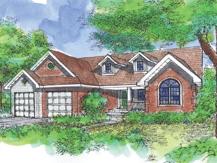Traditional House Plan, 022H-0102