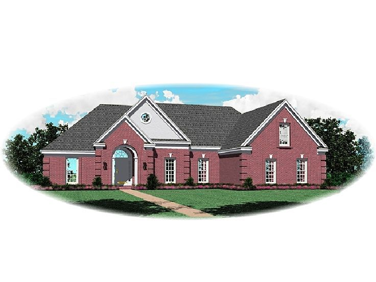 Traditional House Plan, 006H-0085