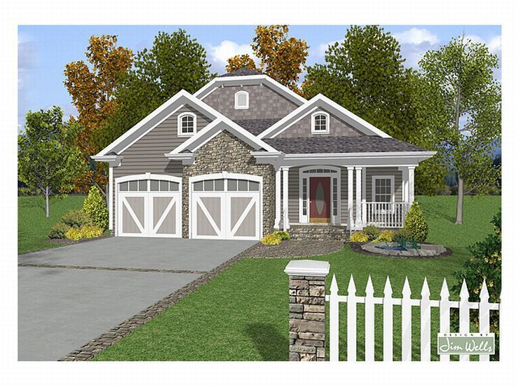 Two-Story Home Plan, 007H-0072