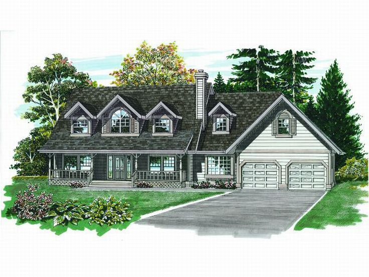 Country Home Plan, 032H-0038