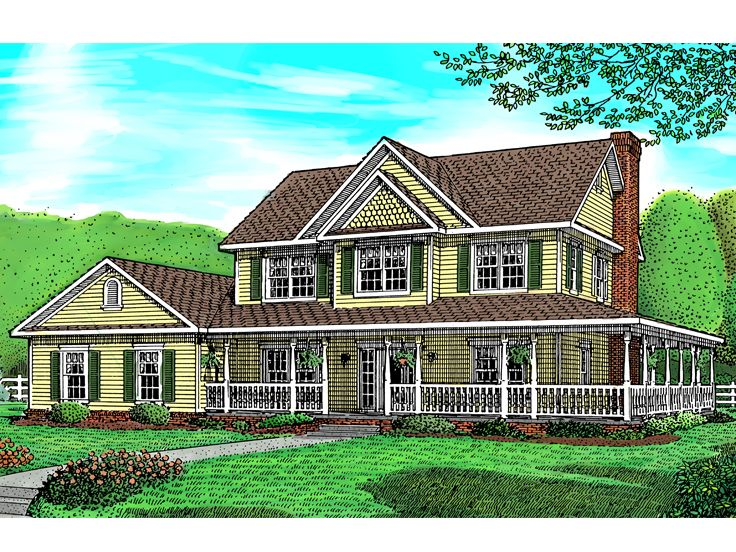 Victorian House Plan, 044H-0013