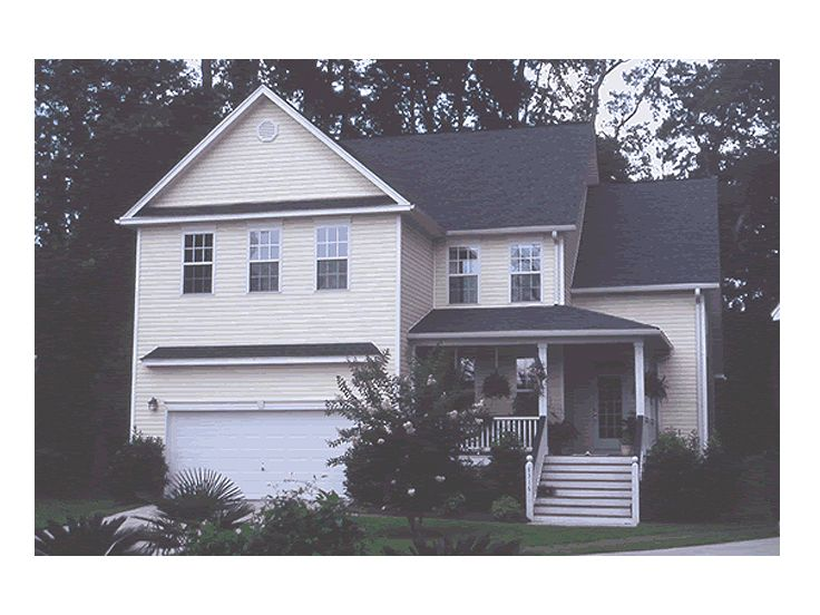 Two-Story House Photo, 059H-0055