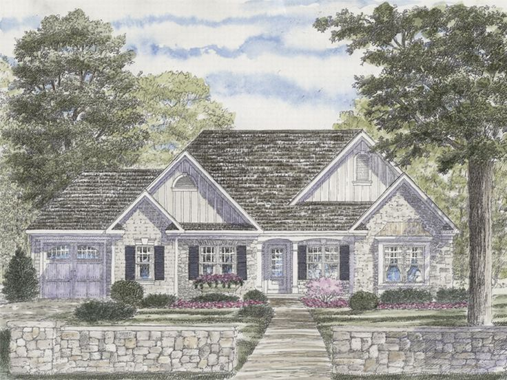 European Home Plan, 014H-0013