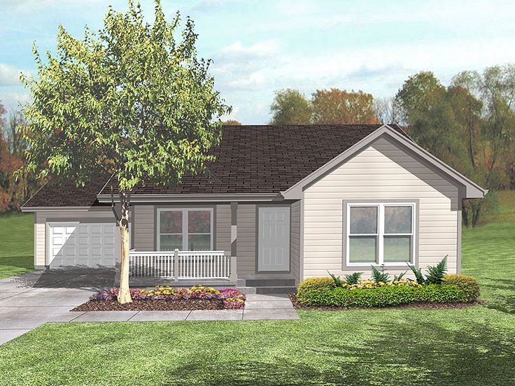 Small Home Plan, 016H-0051