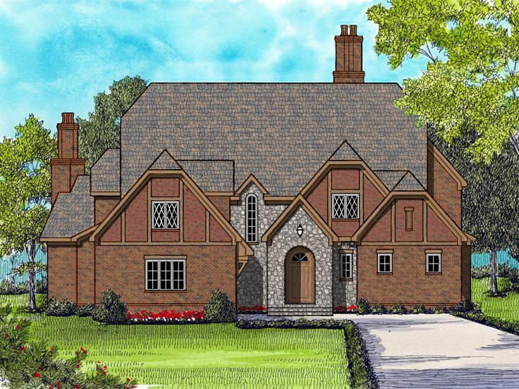 Luxury House Plan, 029H-0131