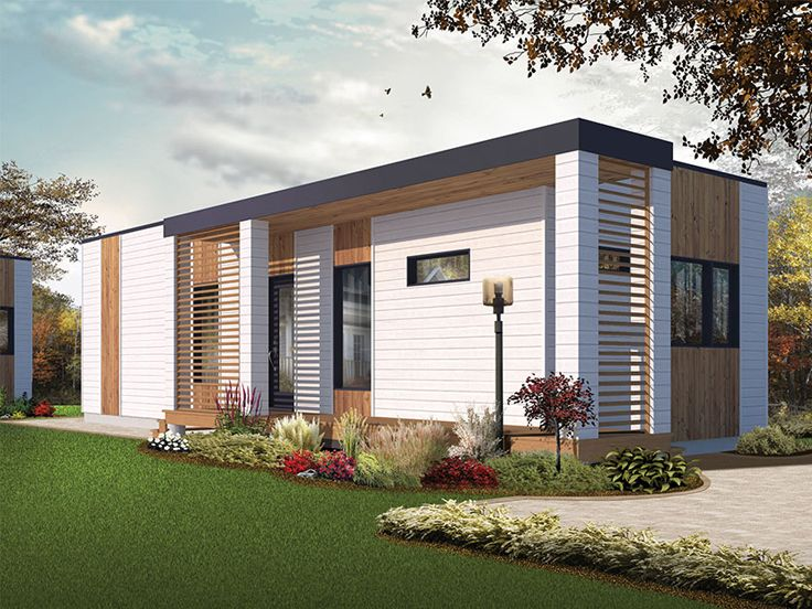 Modern Cottage Home Plan, 027H-0405