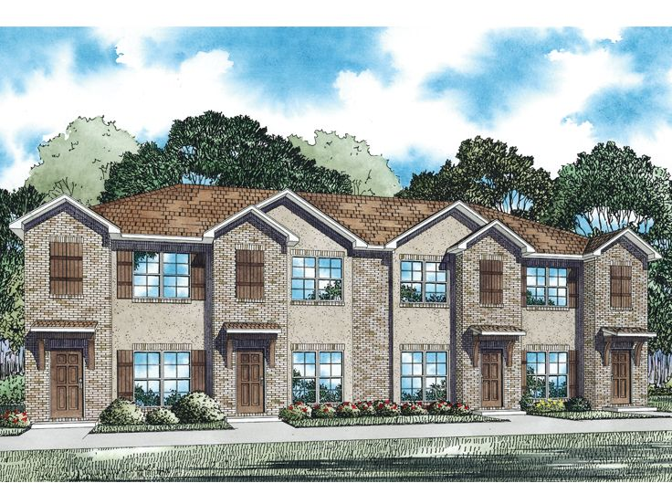 4 Unit Multi-Family Plan, 025M-0093