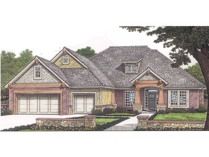 One-Story House Plan, 002H-0023