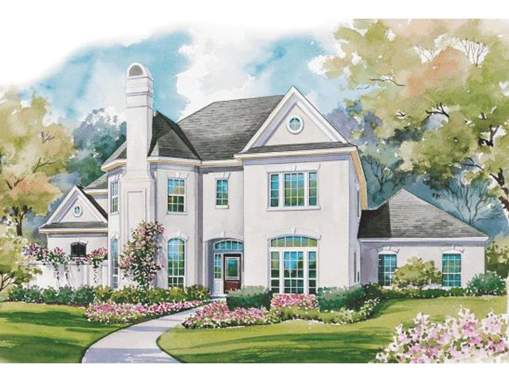 European Home Plan, 031H-0158