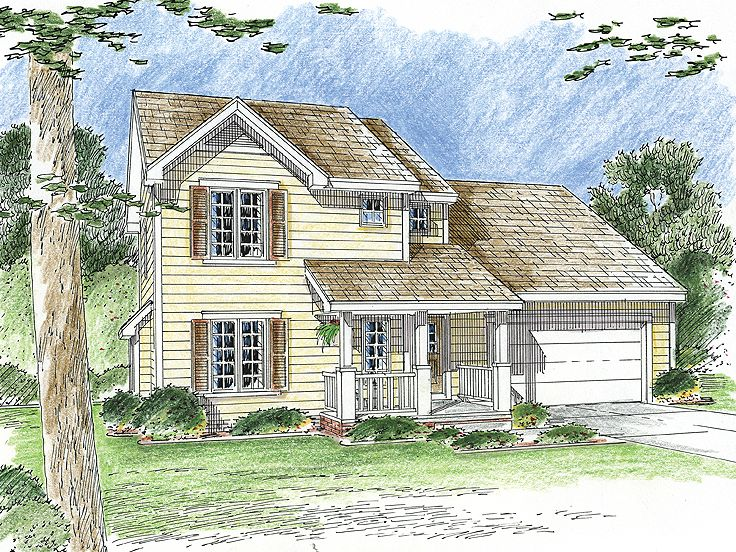 Affordable House Plan, 050H-0070