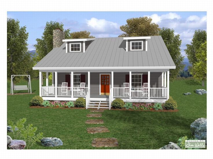 Country House Plan, 007H-0012