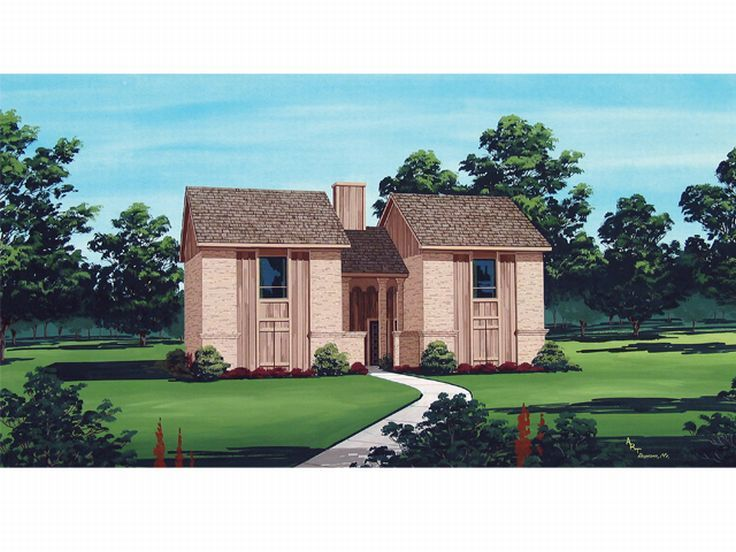 Duplex Home Plan, 021M-0008