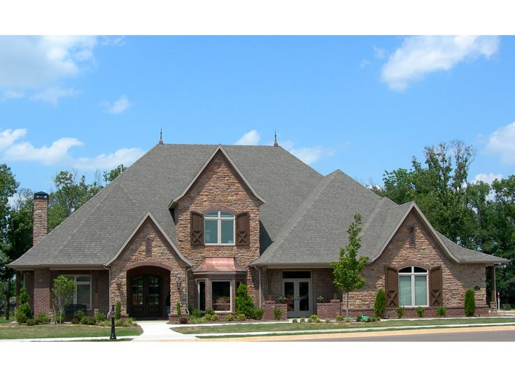 European House Plan, 044H-0055