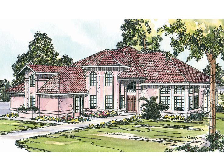 Luxury House Plan, 051H-0053