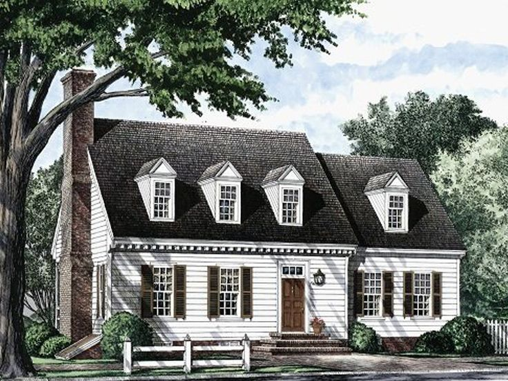 Cape Cod House Plan, 063H-0044