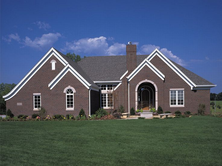 European House Plan, 022H-0032