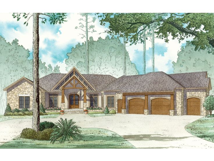 Waterfront House Plan, 074H-0025
