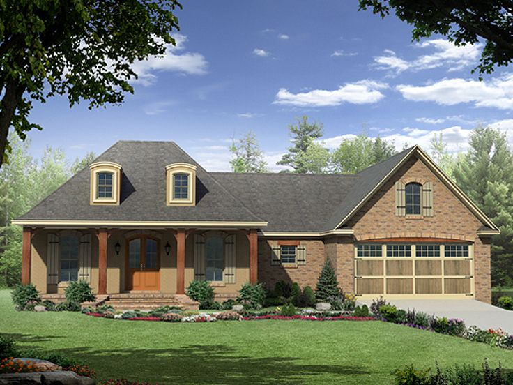 European House Plan, 001H-0141