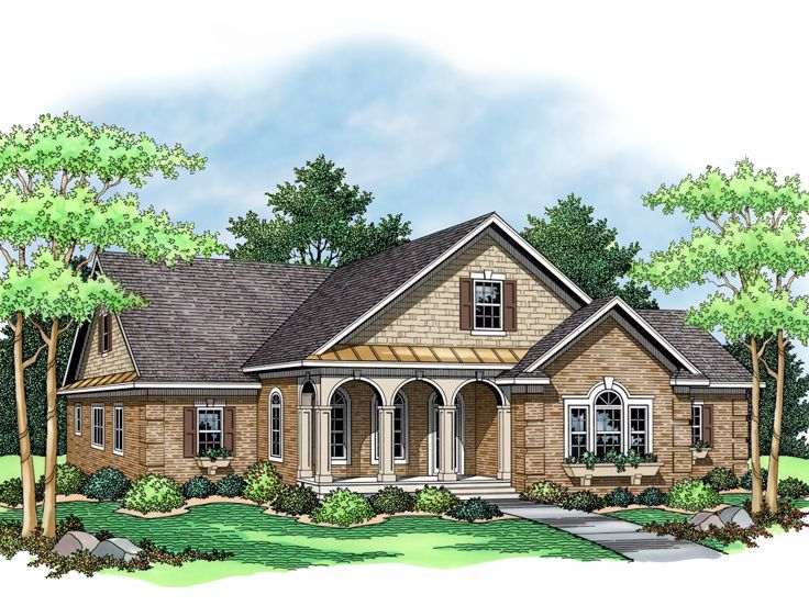 European House Design, 023H-0091