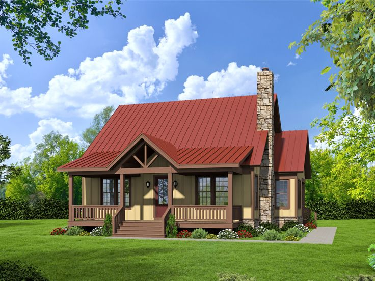 Country House Plan, 062H-0030