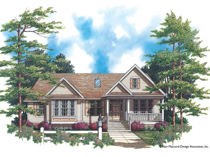 One-Story House Plan, 034H-0075