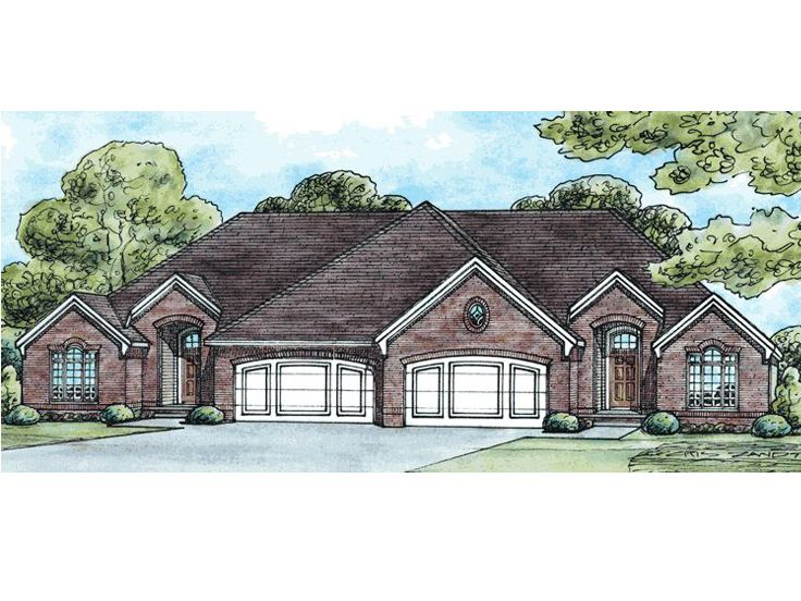 Multi-Family House Plan, 031M-0020