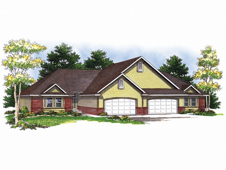 Plan 020m 0017 find unique house plans home plans and Unique duplex plans